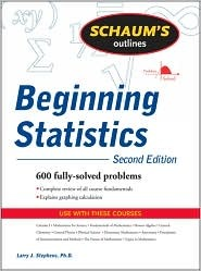 Schaums Outlines Beginning Statistics