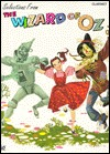 """Selection from """"""""The Wizard of Oz"""""""" / Clarinet"""""""