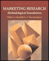 Marketing Research: Methodological Foundations (The Harcourt Series in Marketing)