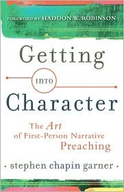 Getting Into Character by Stephen Chapin Garner