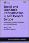 Social and Economic Transformation in East Central Europe: Institutions, Property Relations, and Social Interests