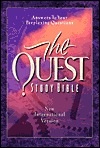 Holy Bible: NIV - Quest Study Bible