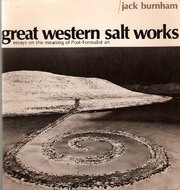 Download Great Western Salt Works: Essays on the Meaning of Post-Formalist Art ePub