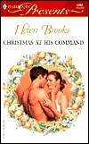 Christmas at His Command by Helen Brooks