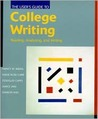 The User's Guide to College Writing
