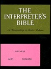 The Interpreter's Bible - Acts, Romans Volume 9