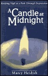 A Candle at Midnight by Marcy Heidish