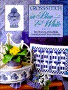 Cross-Stitch in Blue and White by Trice Boerens