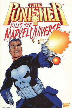 The Punisher Kills the Marvel Universe