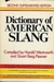 Dictionary Of American Slang