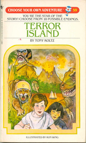 Terror Island (Choose Your Own Adventure, #59)