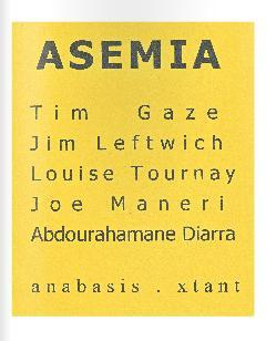 Asemia by Tim Gaze