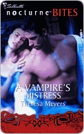 A Vampire's Mistress by Theresa Meyers