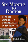 Six Months to Doctor by Judi Cinéas