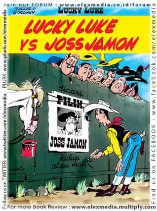 Lucky Luke vs Joss Jamon by Morris