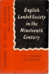 English Landed Society In The Nineteenth Century