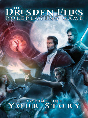The Dresden Files Roleplaying Game by Leonard Balsera