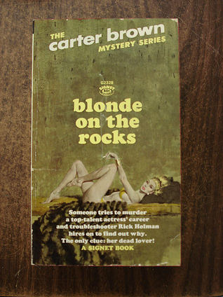 Blonde on the Rocks by Carter Brown