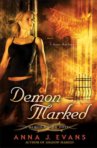 Demon Marked by Anna J. Evans