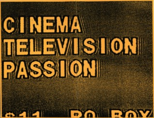Cinema/Television/Passion