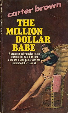 The Million Dollar Babe by Carter Brown