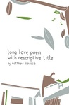 long love poem with descriptive title