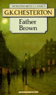 Father Brown by G.K. Chesterton