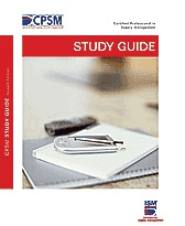 CPSM Study Guide , Exam 2 by Robert B. Handfeld