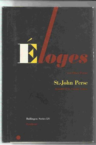 Eloges and Other Poems by Saint-John Perse