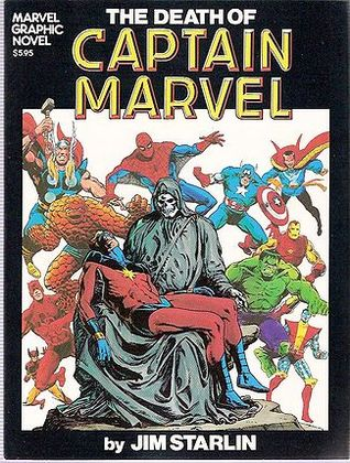 The Death of Captain Marvel by Jim Starlin