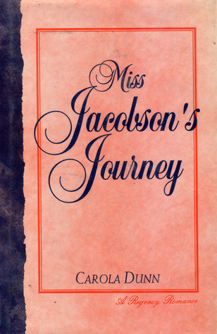 Miss Jacobson's Journey by Carola Dunn