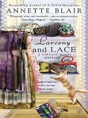 Larceny and Lace (A Vintage Magic Mystery, #2)