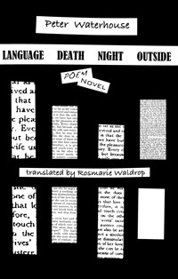 Language Death Night Outside by Peter Waterhouse