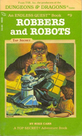 Robbers and Robots by Mike Carr