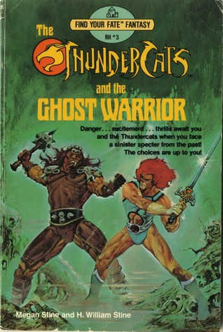 Thundercats and the Ghost Warrior by Megan Stine