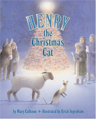 Henry the Christmas Cat