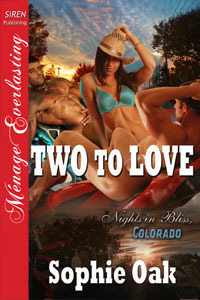 Two to Love (Nights in Bliss, Colorado #2)