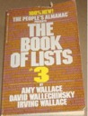 The People's Almanac Presents the Book of Lists #3 by Amy Wallace