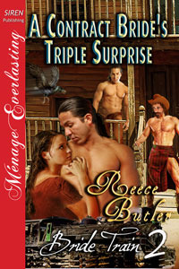 A Contract Bride's Triple Surprise by Reece Butler