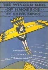 cover Winged Girl of Knossos by Erik Berry