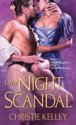 One Night Scandal (The Spinster Club, #5)