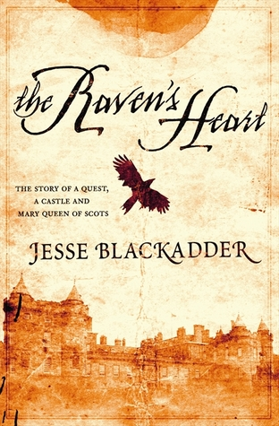 Book cover: The Raven's Heart by Jesse Blackadder