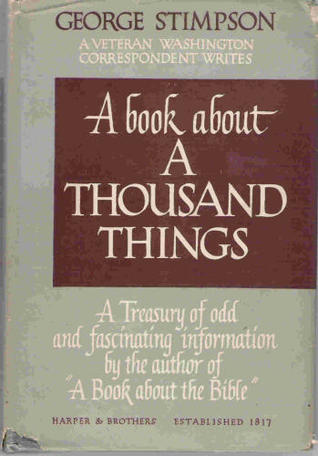 A Book About A Thousand Things