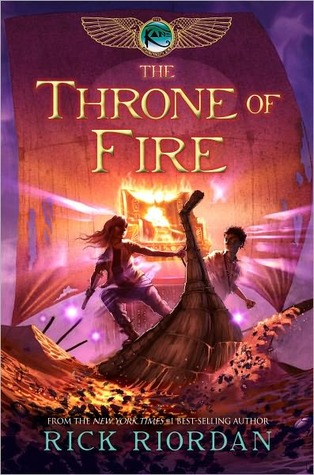 Throne of Fire (Kane Chronicles, #2)