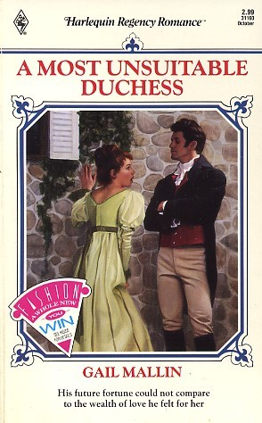 A Most Unsuitable Duchess by Gail Mallin
