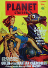 Queen of the Martian Catacombs: Planet Stories, Summer '49