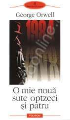 Download online O mie noua sute optzeci si patru PDF by George Orwell, Mihnea Gafiţa