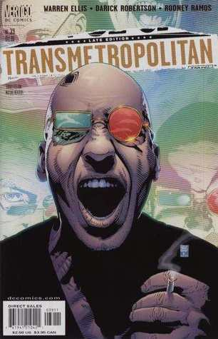 Transmetropolitan V. 1-10 by Warren Ellis