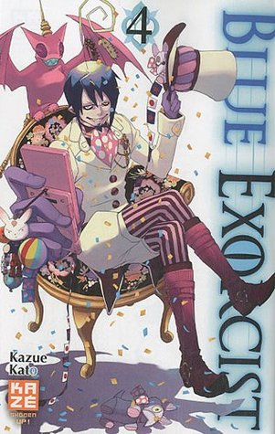 Blue exorcist, Tome 4 by Kazue Kato