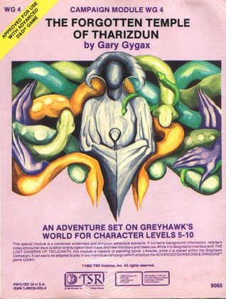 The Forgotten Temple Of Tharizdun by Gary Gygax